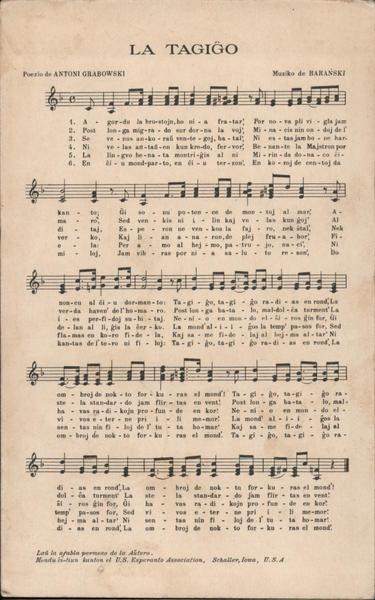 La Tagigo Sheet Music Patriotic