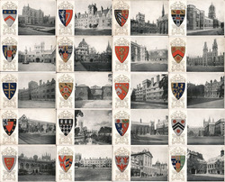 Set of 20: University of Oxford, Colleges, Seals Postcard