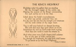 The King's Highway Postcard
