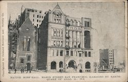 Native Sons' Hall, Mason Street, San Francisco, Damaged by Earthquake of April 18, 1906