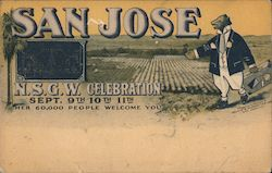 San Jose N.S.G.W. Celebration Sept. 9th-10th-11th. Her 60,000 people welcome you.