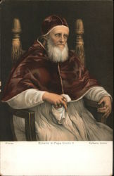 A Man in Religious Clothing Sitting in a Chair