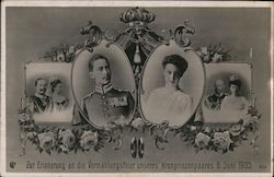 To Commemorate the Marriage Ceremony of our Crown Prince and Princess, June 6, 1905