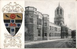 Christ Church - Founded 1546 Postcard
