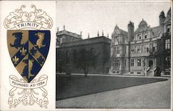 Trinity College, Oxford - Established 1554 Postcard