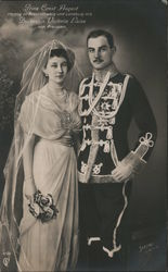 Prince Ernst August, Duke of Brunswick and Lüneburg, with Princess Victoria Louise of Prussia