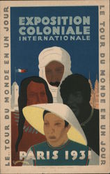 Le Tour Du Monde En Un Jour: Exposition Coloniale Internationale-Paris 1931