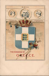 The kingdom of Greece Postcard