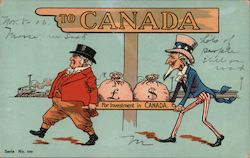 "Canada leader taking money out of US aided my Uncle Sam. ""Investments for Canada"""