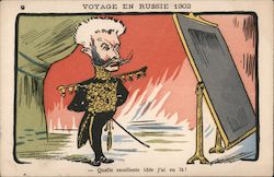 Voyage in Russia 1902 Postcard