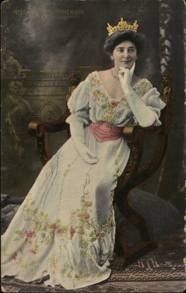 Miss Mary Mannering Actresses