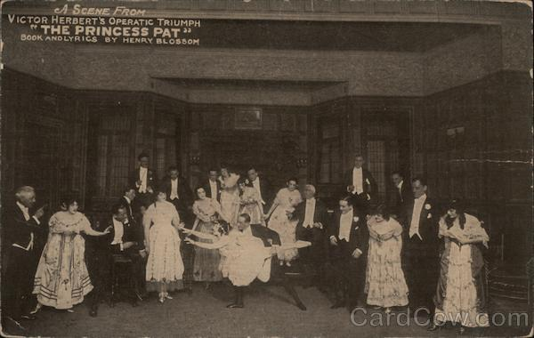 A Scene from Victor Herbert's The Princess Pat Opera