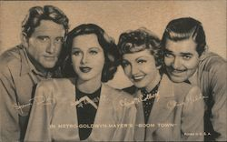 Spencer Tracy, Hedy Lamarr, Claudette Colbert, Clark Gable