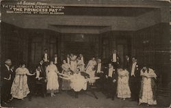 "A Scene from Victor Herbert's ""The Princess Pat"" Postcard"