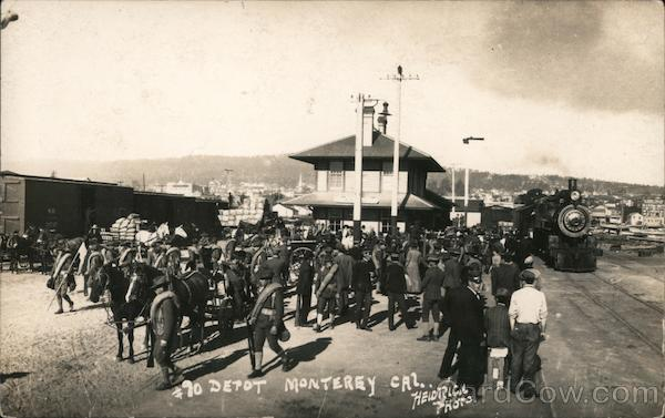 #90 Railroad Depot Monterey California