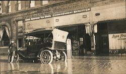 Flooded Street, Great American Tea Store, Farm & Forest Realty Co.