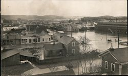 View of Flooded Town