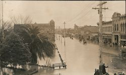 Flooded Main Street 1911