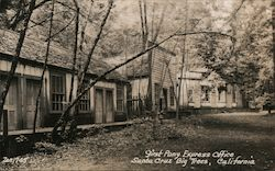 First Pony Express Office, Santa Cruz Big Trees