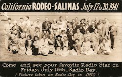 California Rodeo, July 17 to 20, 1941