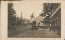 Monte Rio Depot and Hotel Postcard
