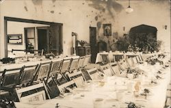 Dining Room Postcard