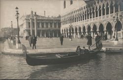 A Man and Woman in a Gondola