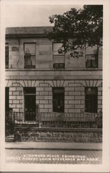 8 Howard Place, Where Robert Louis Stevenson Was Born Postcard