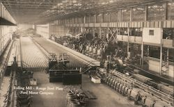 Rolling Mill - Rouge Steel Plant - Ford Motor Company Postcard