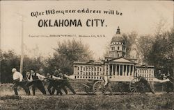 After 1913 My New Address Will Be Oklahoma City