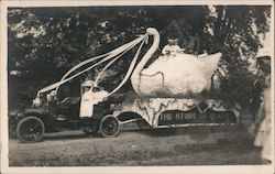 J.B. Crail Dry Goods Store Parade Float - 1910