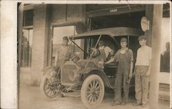 Early Auto at Garage Goodrich Tires Adv.