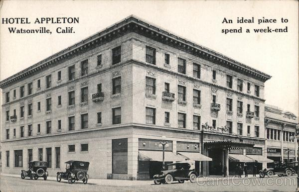 Hotel Appleton Watsonville California