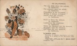 In California by S.T. Mock Postcard