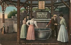 2097 - Drinking Fountain, Shasta Springs, California