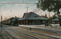 Southern Pacific Depot, San Joaquin Co.