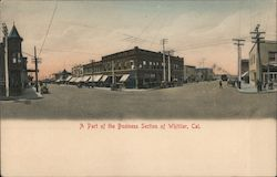 A Part of the Business Section Postcard