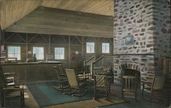 Sitting Room and Office, Camp Ahwahnee