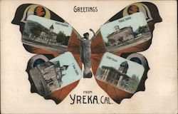 Greetings from Yreka, Butterfly Multi-view
