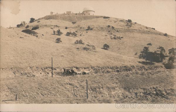 Lick Observatory Mount Hamilton California
