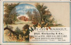 Bay City Market, Provision and Packing House. Phil. Gerhardy & Co.