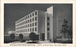 Alexian Brothers Hospital - 225 N. Jackson Ave., San Jose, Calif. Postcard