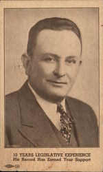 Jerry Seawell for Lieutenant Governor - 1938