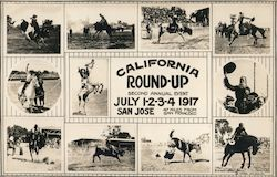 California Round-up. Second Annual Event. July 1-2-3-4. San Jose. 47 miles from San Francisco