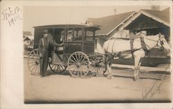 George M. Thompson Bread Delivery Wagon