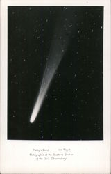Halley's Comet - May 6, 1910 Postcard