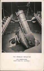 The Crossley Reflector. Lick Observatory. Mount Hamilton, California Postcard