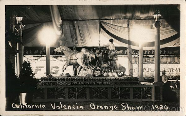 California Valencia Orange Show 1926 Anaheim