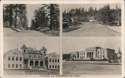 Views of Susanville, Cal. Postcard