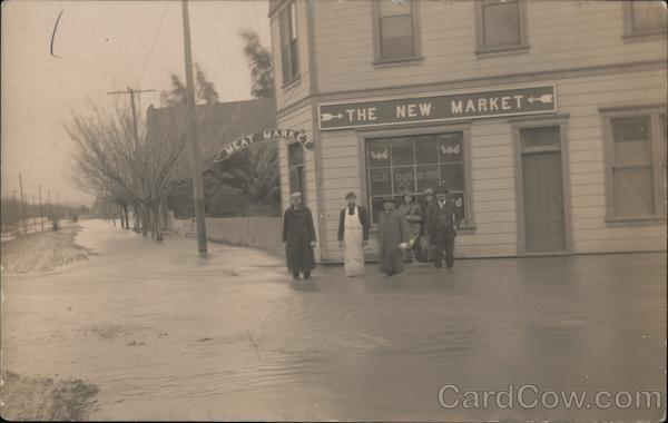 The New Market, Flood Campbell California